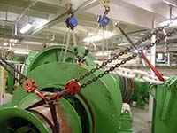 Cruise Ship Winch Service